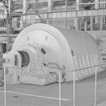 модельный турбогенератор ТВМ-60 на новосибирской ТЭЦ-2