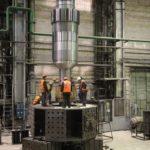 The core attachment to the rotor hydrogenerator