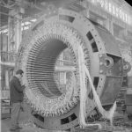 Укладка обмотки двигателя АВС-8000-1500