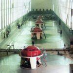 Hydro turbine hall Tabka (Syria)