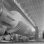 Обработка ротора турбогенератоора