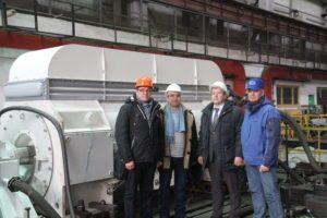 ЭЛСИБ изготовил новый тип турбогенератора для ПАО «КОКС» - elsib.ru