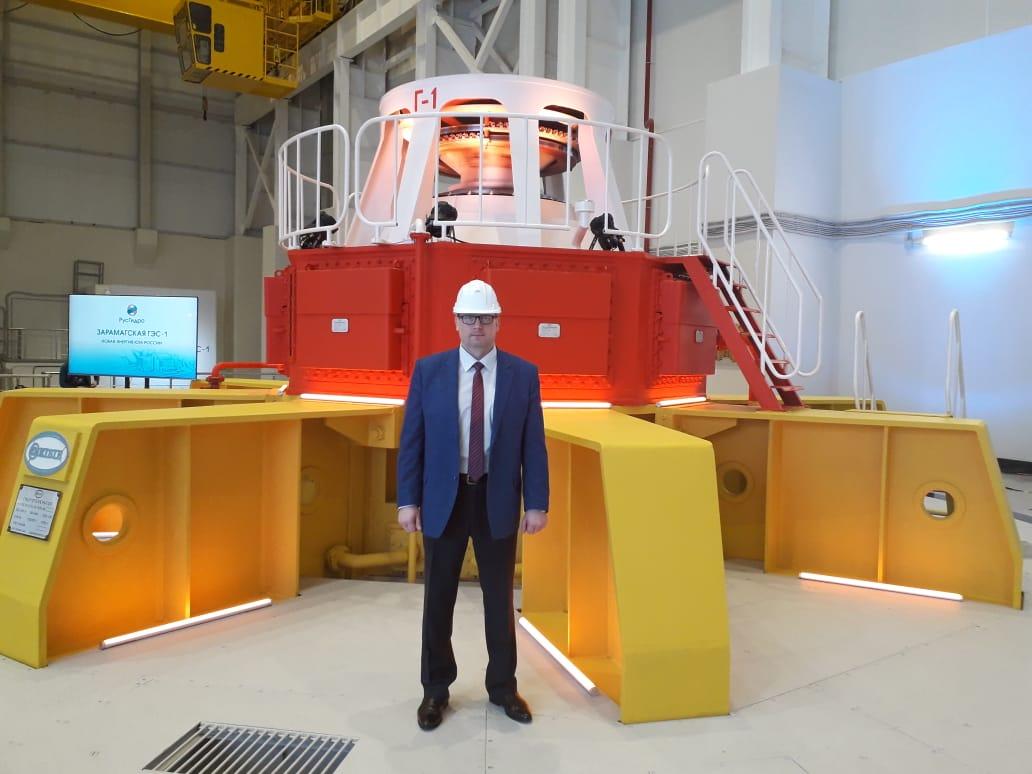 ЭЛСИБ принял участие в торжественном пуске Зарамагской ГЭС-1