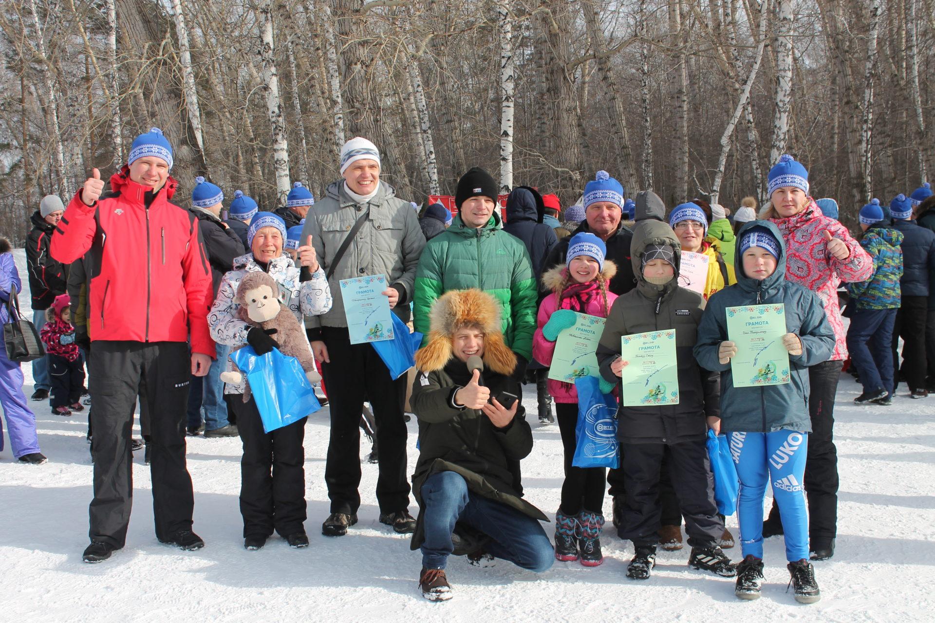 ЭЛСИБ проведет лыжную гонку