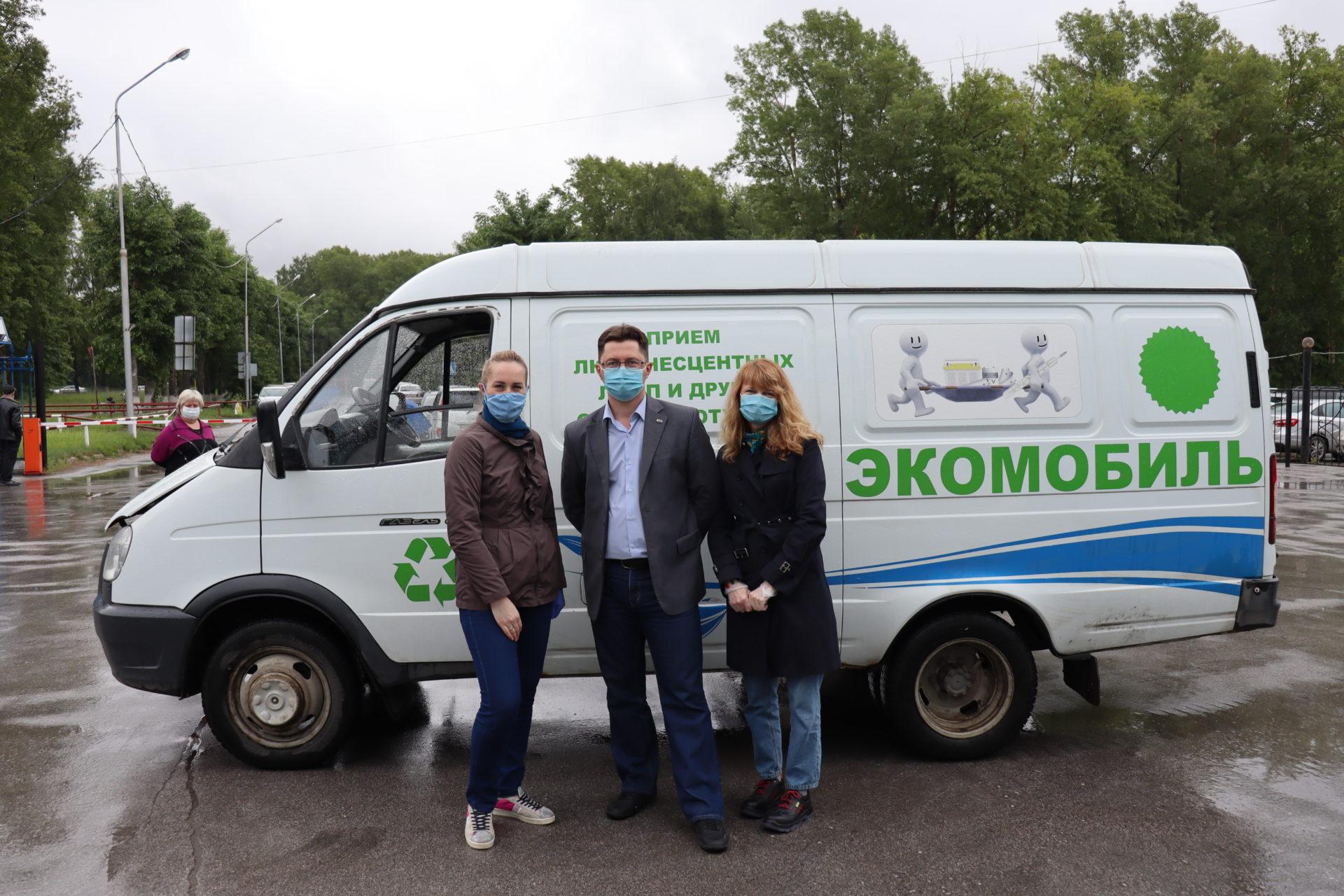 ЭЛСИБ за чистый город: раздельный сбор мусора на заводе