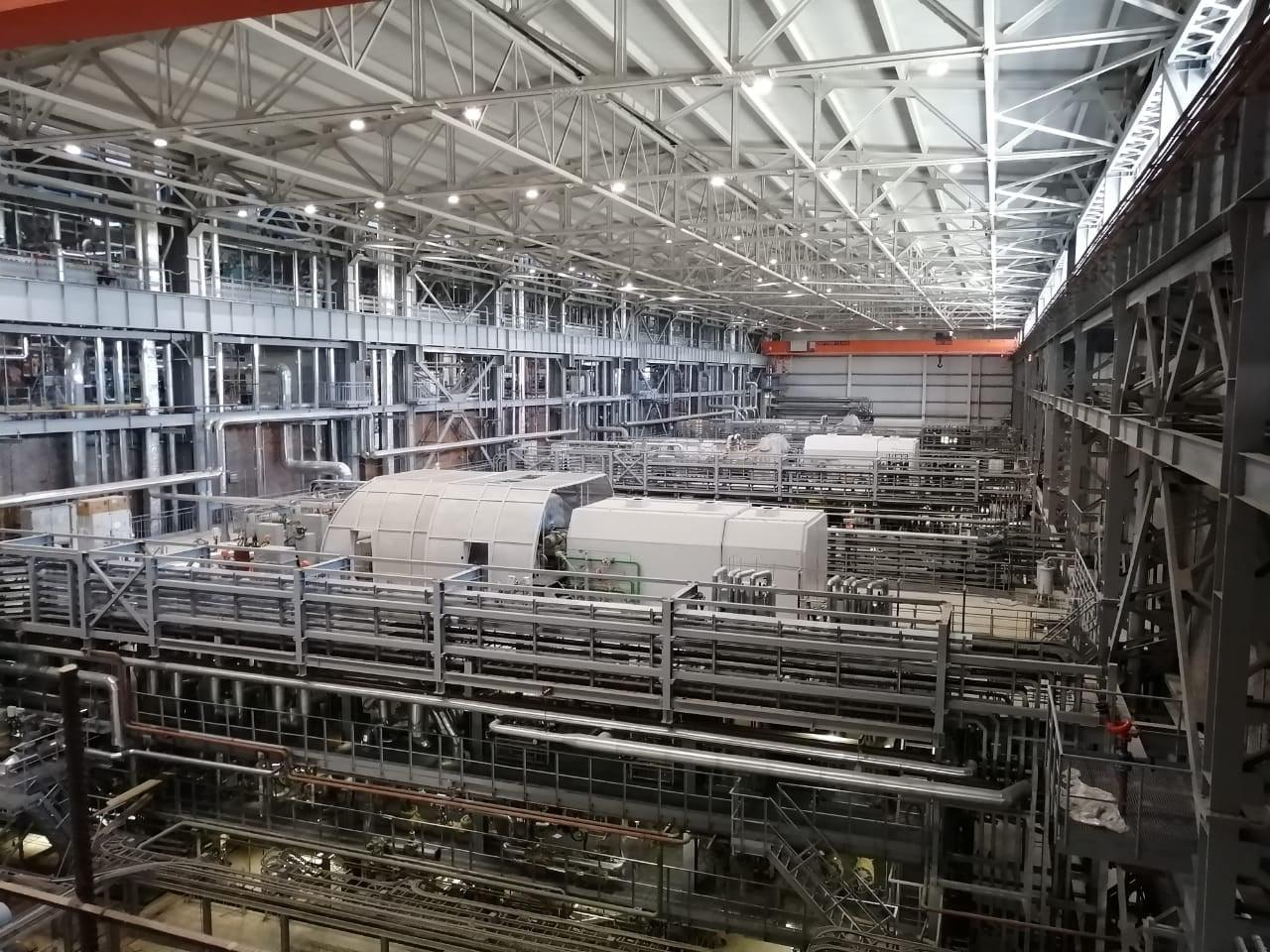Турбогенератор ЭЛСИБа на Приморской ТЭС готов к эксплуатации