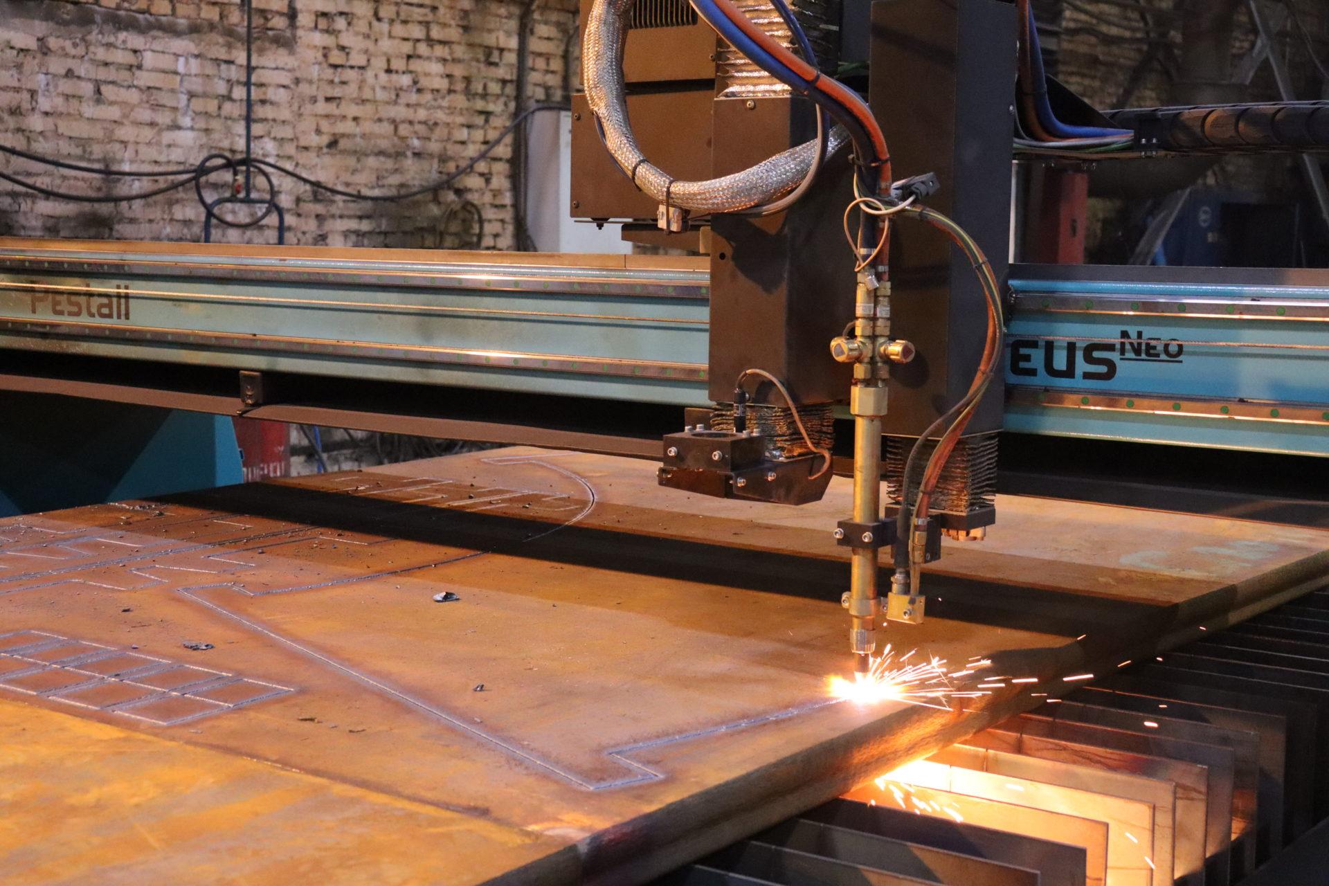 На заводе ЭЛСИБ запущена новая машина термической резки