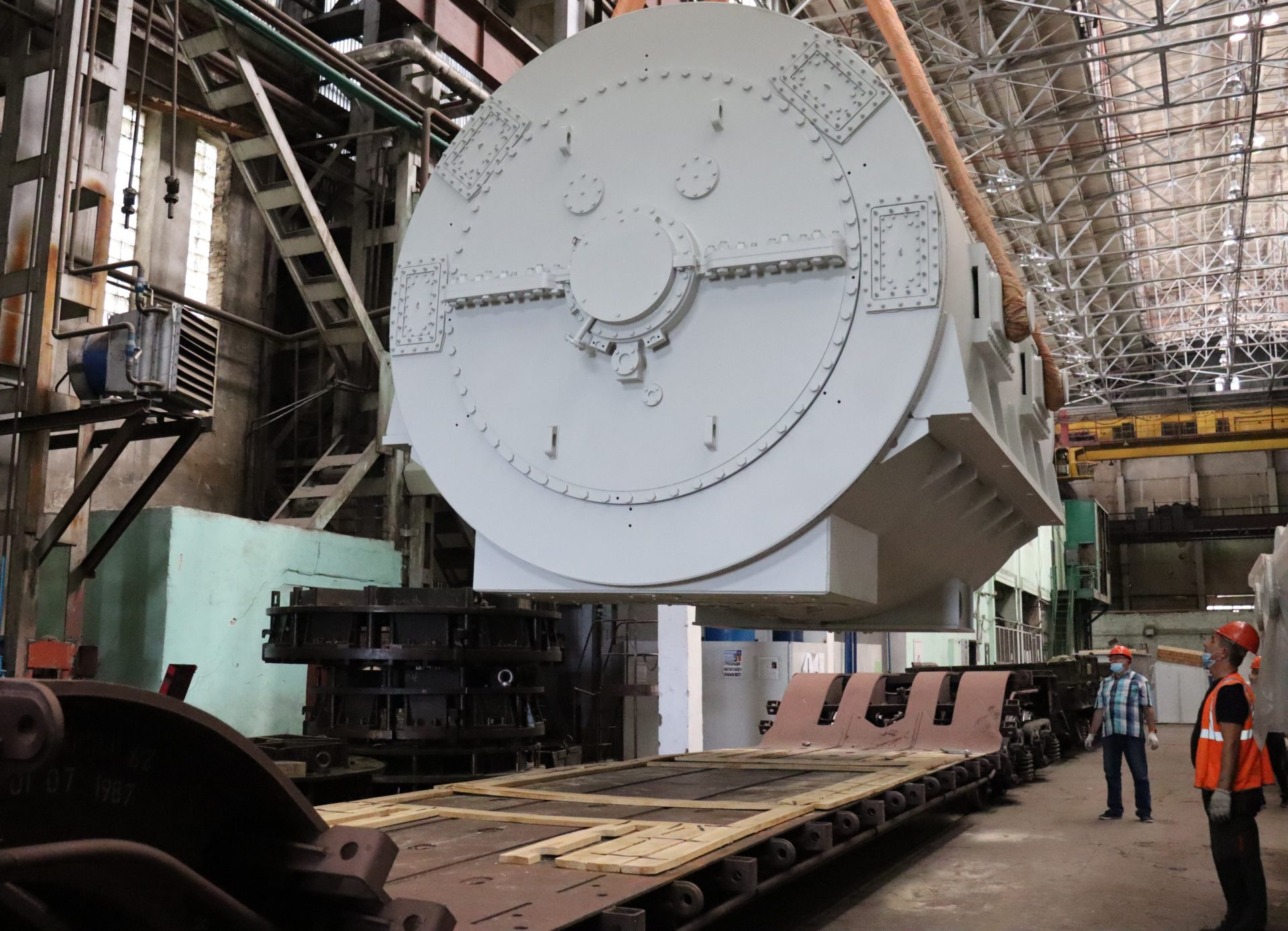 ЭЛСИБ отгрузил турбогенератор для Улан-Баторской ТЭЦ-4