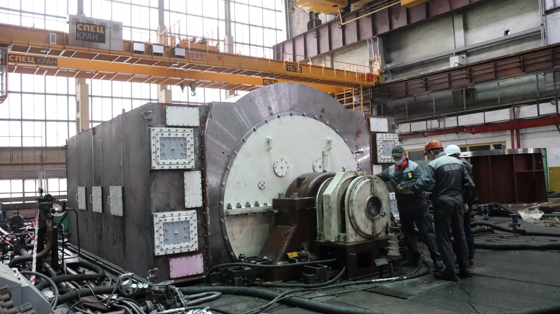 На заводе ЭЛСИБ прошли испытания турбогенератора для Пермской ТЭЦ-9