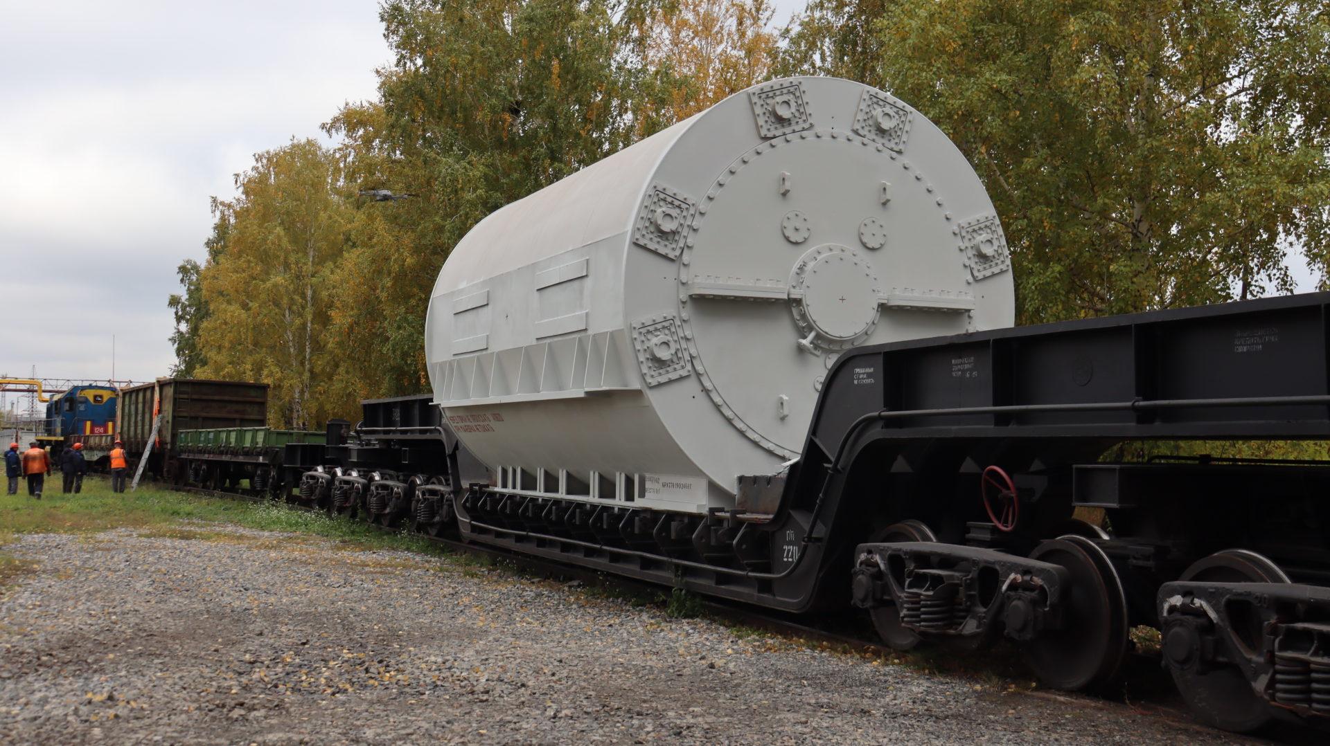 ЭЛСИБ отгрузил основные узлы турбогенератора для Томь-Усинской ГРЭС
